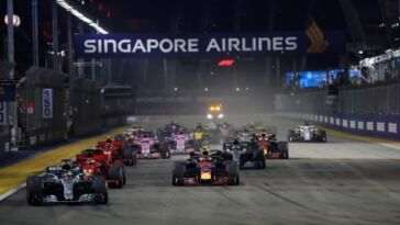 Gran Premio di Singapore 2021 annullato