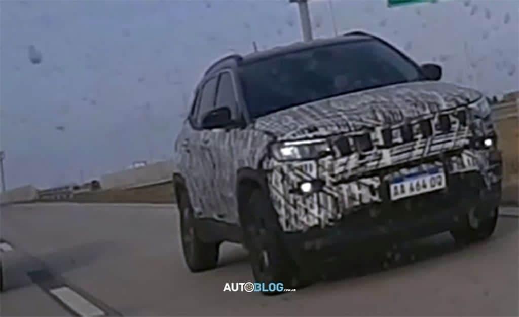 Jeep Commander prototipi Argentina foto spia