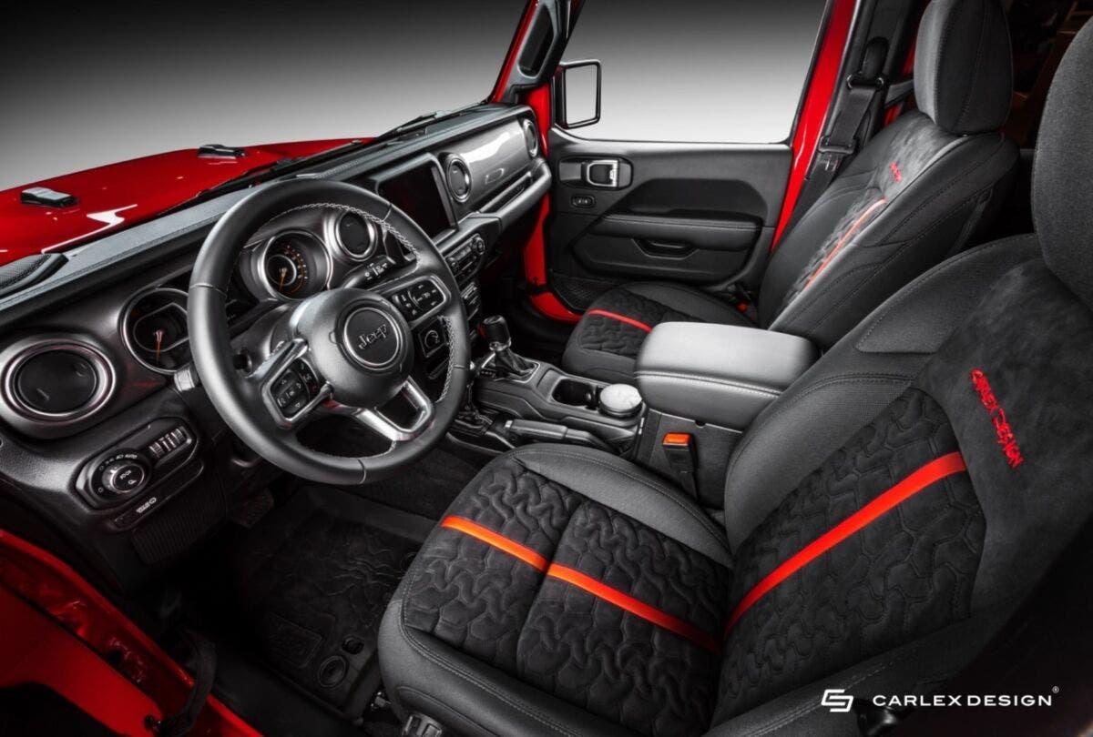 Jeep Gladiator europeo Carlex Design