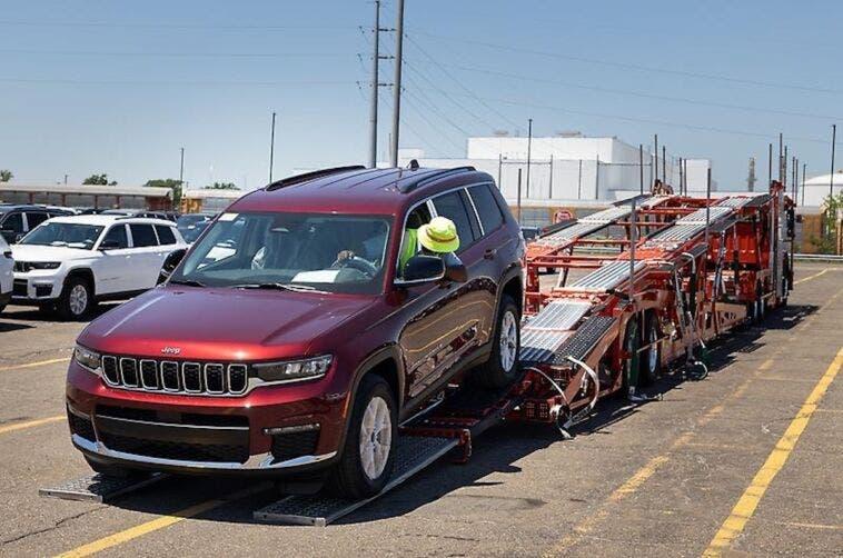 Jeep Grand Cherokee L consegne concessionarie