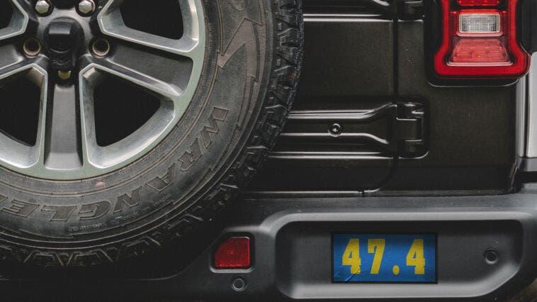 Jeep Wrangler 2022 nuovo teaser