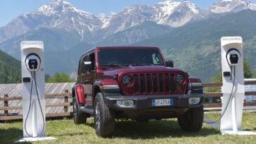 Jeep Wrangler 4xe ALL-e Free2Move eSolutions