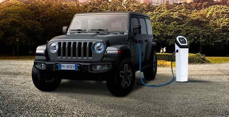 Jeep Wrangler 4xe promo giugno