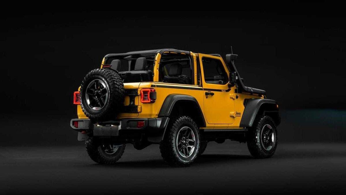 Jeep Wrangler a due porte Europa