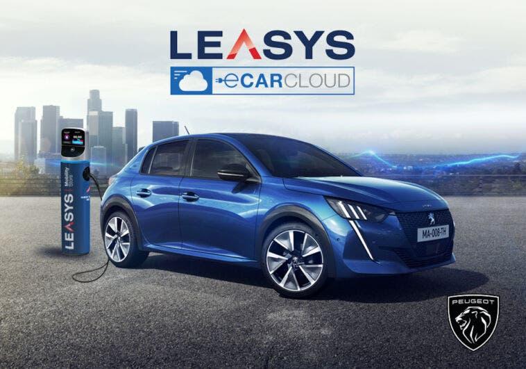 Leasys e-CarCloud Peugeot e-208 DS E-Tense