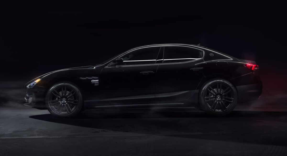 Maserati Ghibli Operanera Operabianca edizione speciale