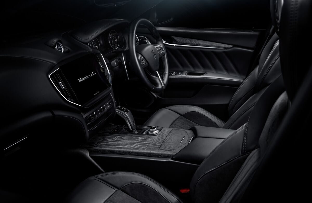Maserati Ghibl iOperanera Operabianca edizione speciale
