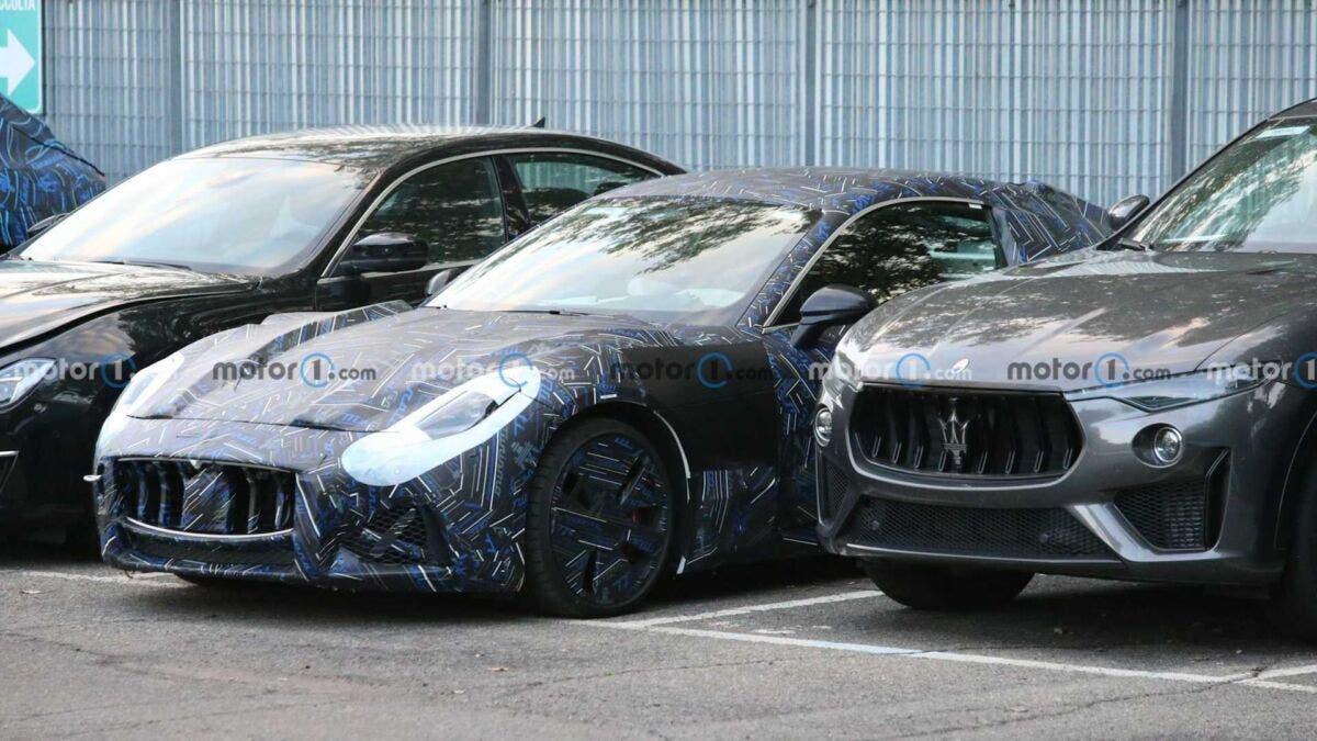 Maserati GranTurismo 2022 nuovo avvistamento