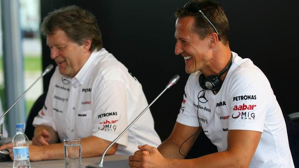Michael Schumacher Norbert Haug