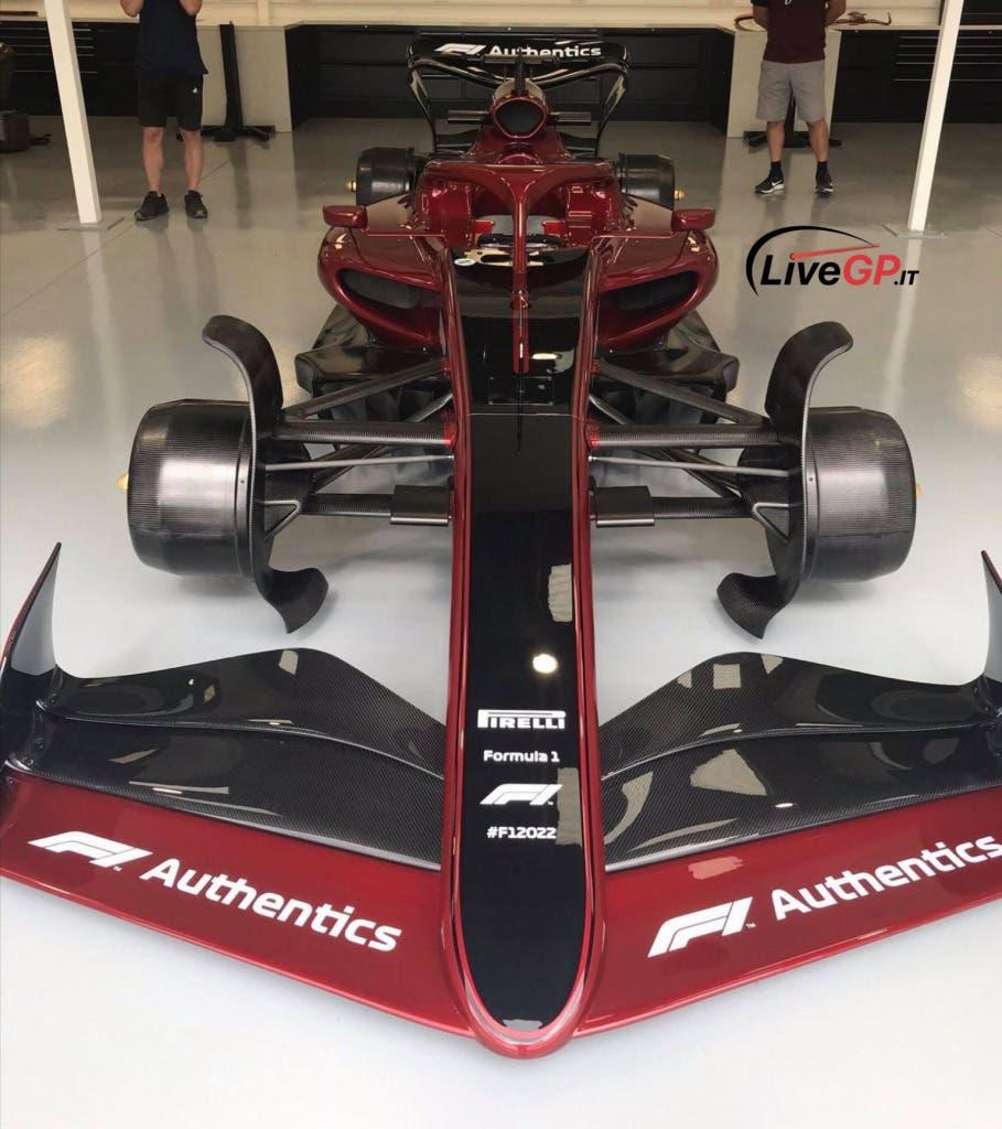 Monoposto F1 2022 foto live