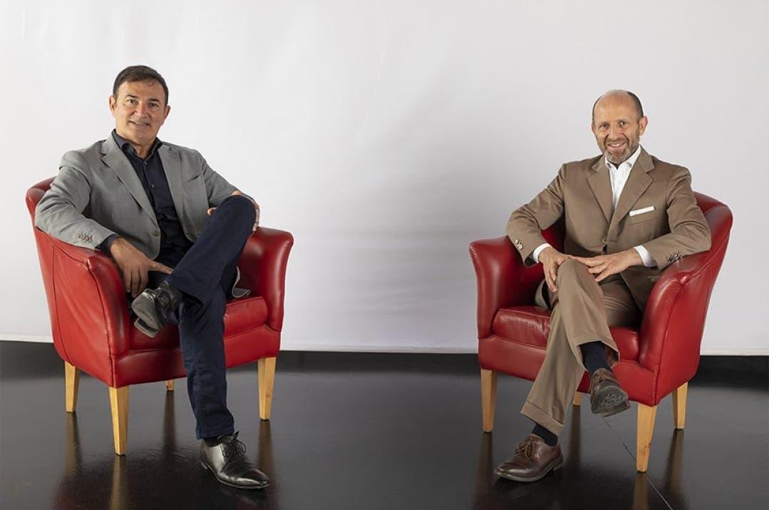 Luca Napolitano con Jean-Pierre Ploué