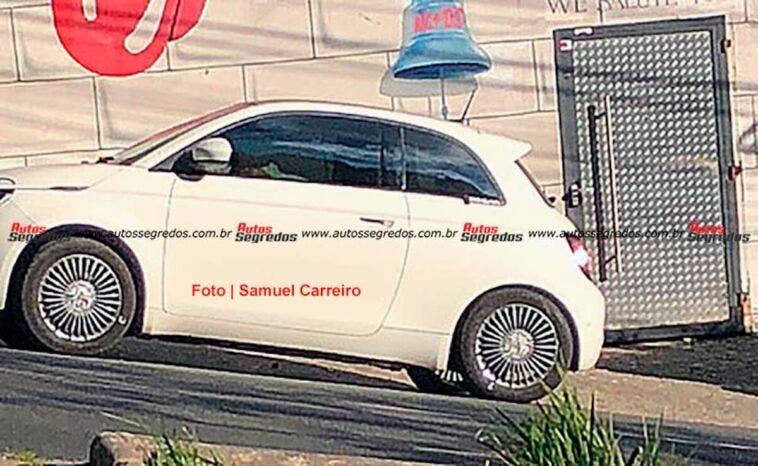 Nuova Fiat 500 Elettrica Icon test Brasile