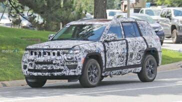 Nuova Jeep Grand Cherokee 4xe foto spia