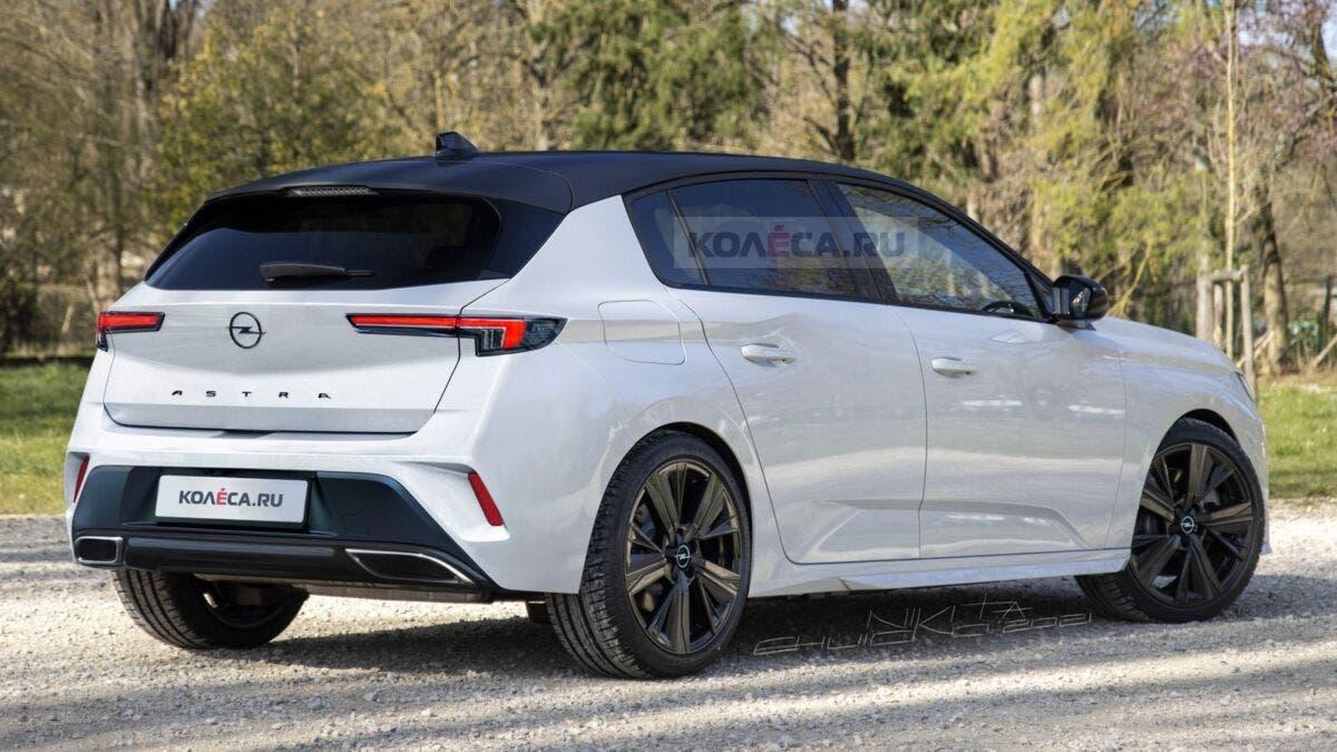 Opel Astra 2022 render