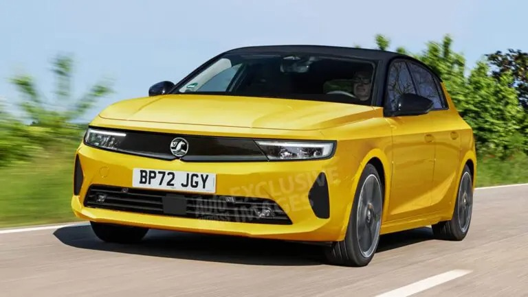 Opel Astra render