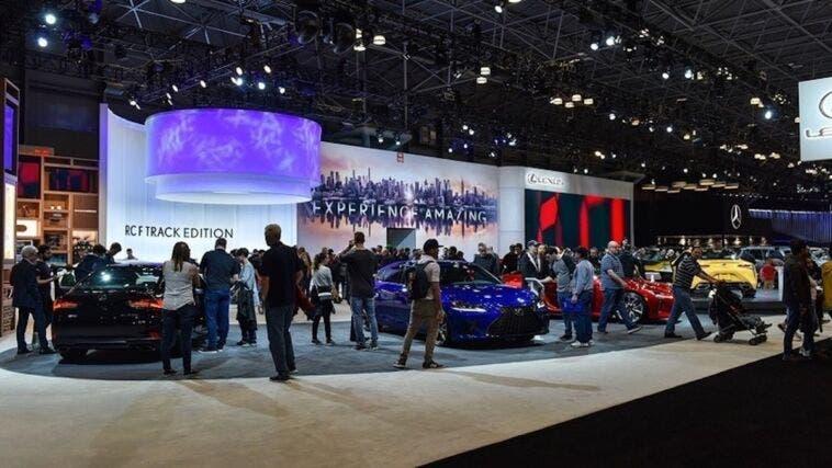 Salone di New York 2021 piena capacità
