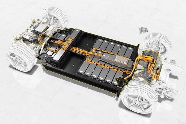 Veicoli elettrici batterie alluminio