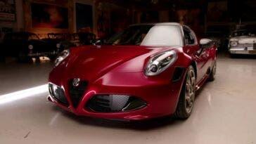 Alfa Romeo 4C Spider 33 Stradale Tributo Jay Leno
