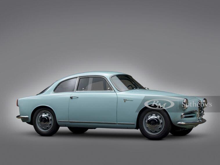 Alfa Romeo Giulietta Sprint Veloce Alleggerita 1957 asta