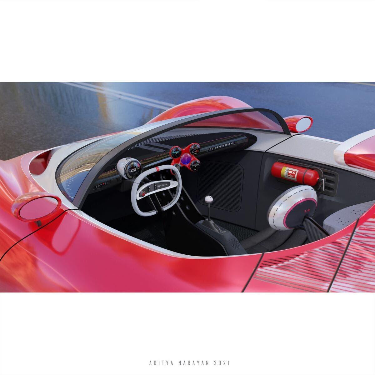 Alfa Romeo Periscopica moderna render
