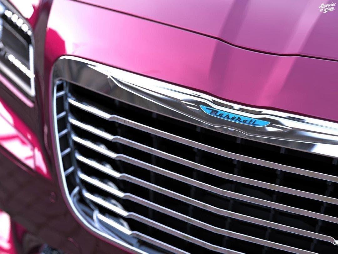 Chrysler TC by Maserati moderna render