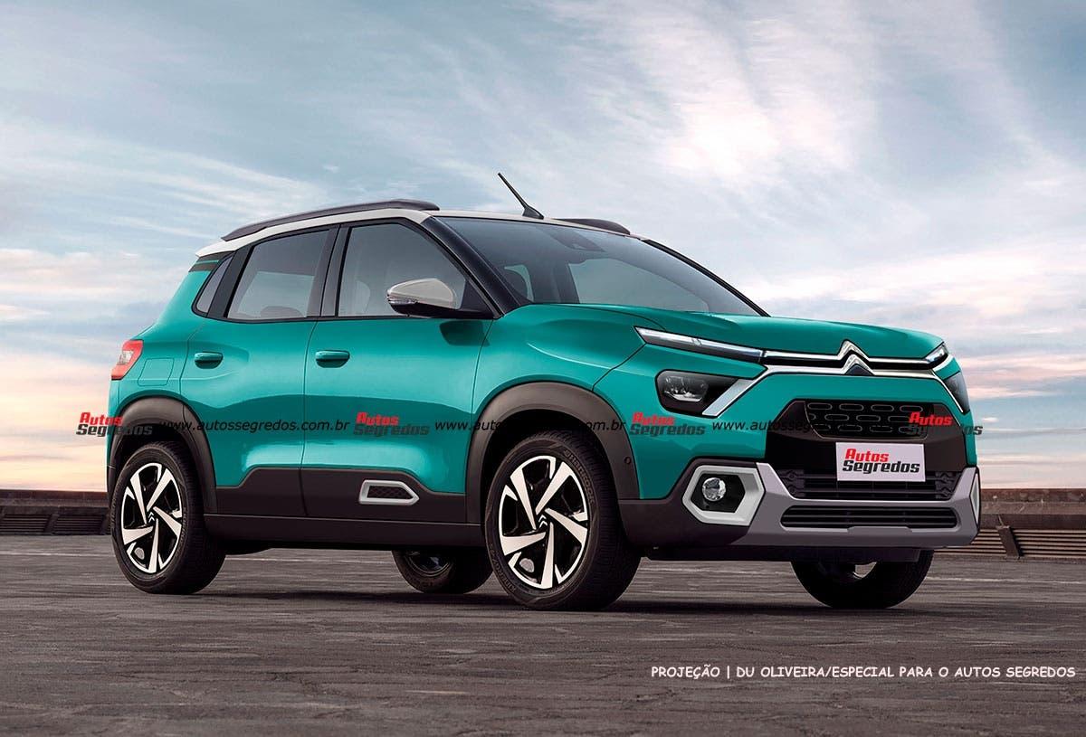 Citroën C3 2022 render