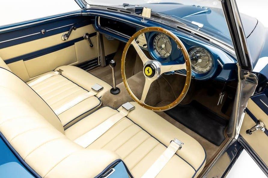 Ferrari 212 Europa cabrio Ghia 1952 asta