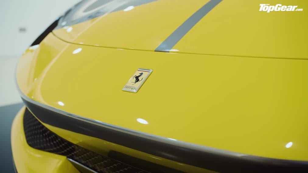 Ferrari 296 GTB tour Top Gear