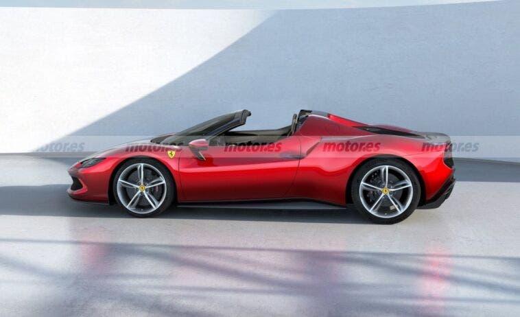 Ferrari 296 GTS render