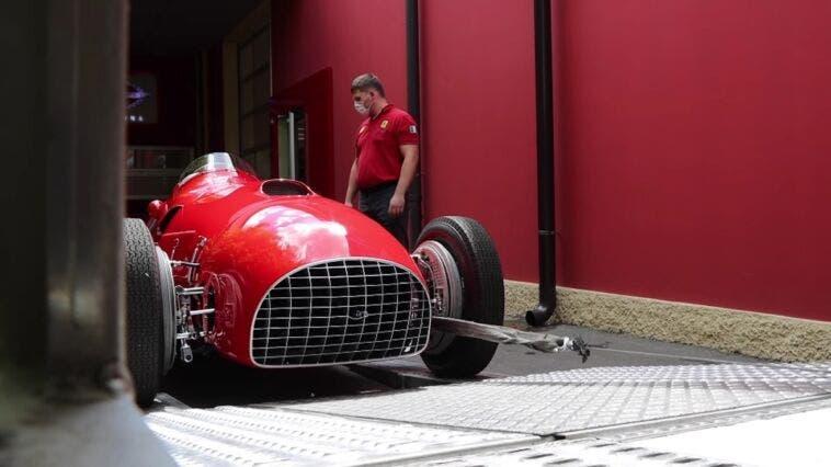 Ferrari 375 F1 restauro