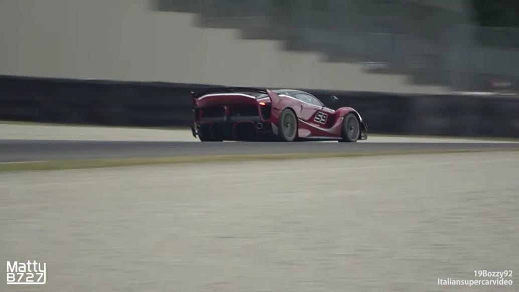 Ferrari FXX K Evo Mugello