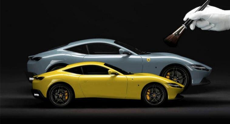 Ferrari modellini su misura