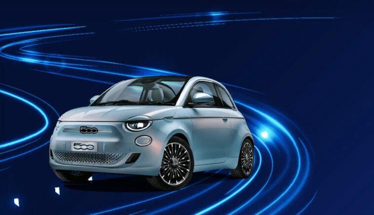 Fiat 500 Elettrica Action noleggio