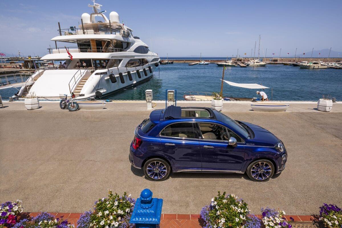 Fiat 500X Yachting