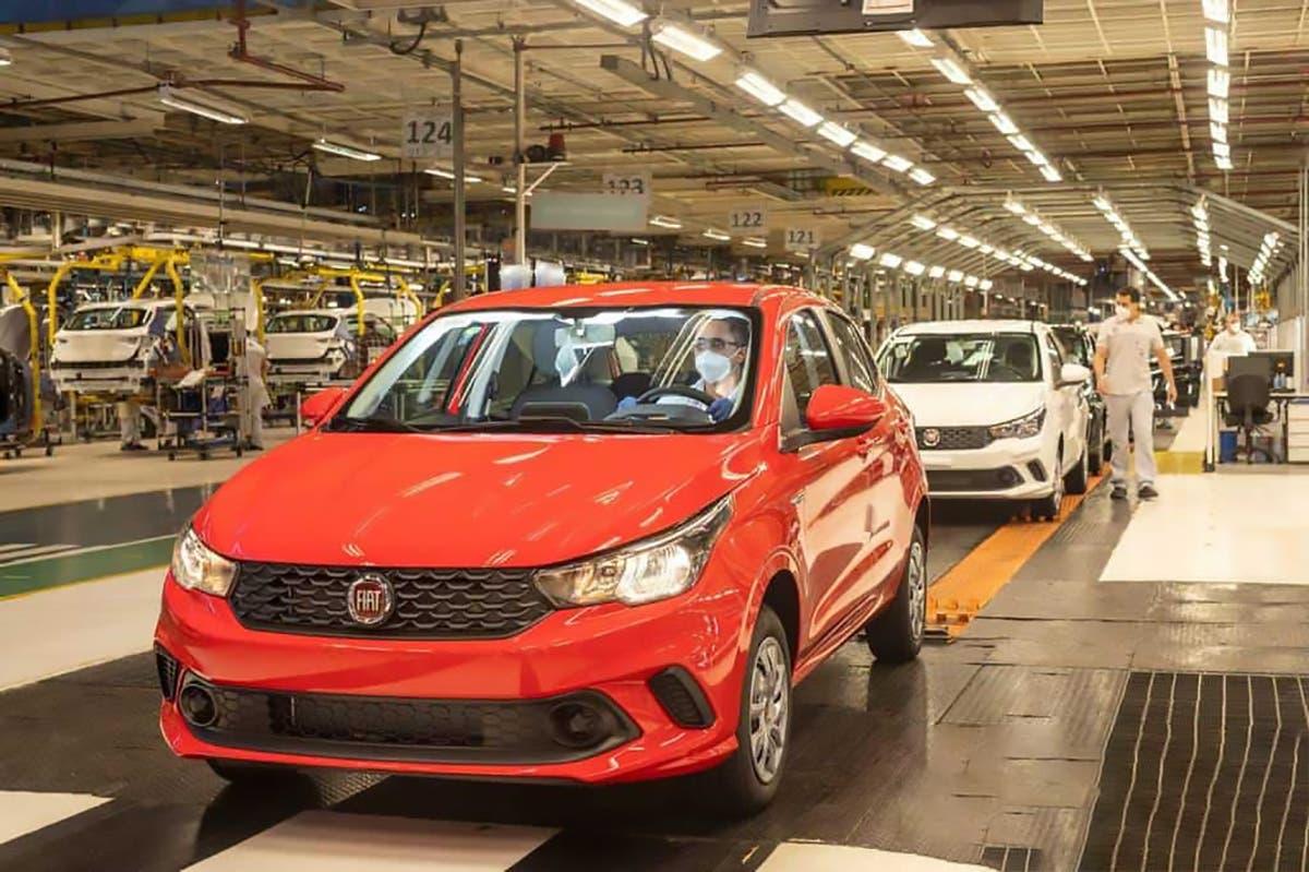 Fiat Argo parziali luglio