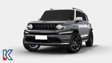 Jeep Comanche EV 2024 render