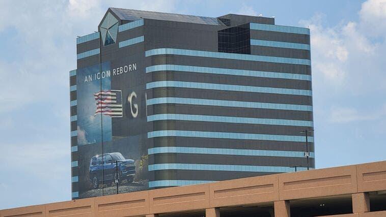 Jeep Grand Wagoneer quartier generale Stellantis USA