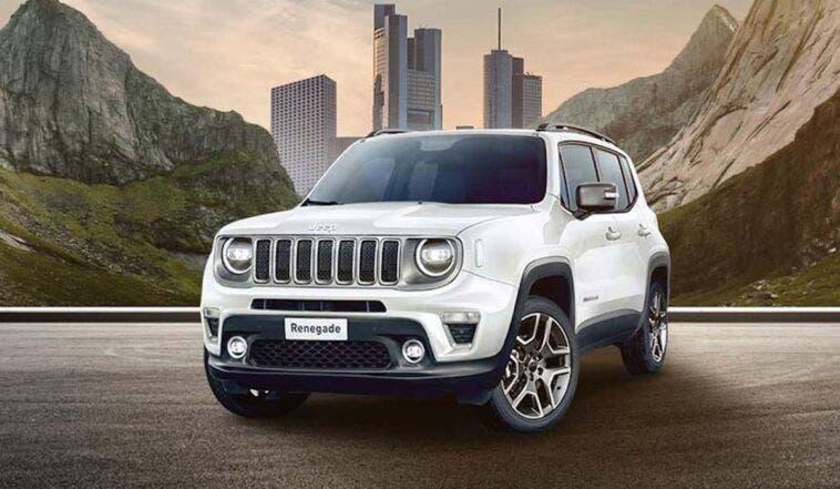 Jeep Renegade Longitude noleggio