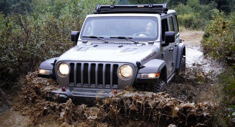 Jeep Sunrider Flip Top Wrangler Gladiator