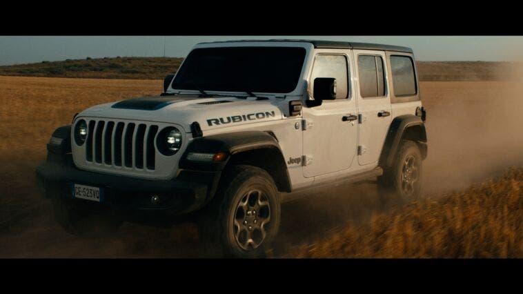 Jeep Wrangler 4xe spot