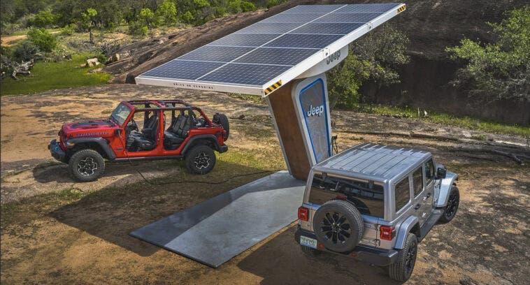 Jeep Wrangler concorrenza Bronco