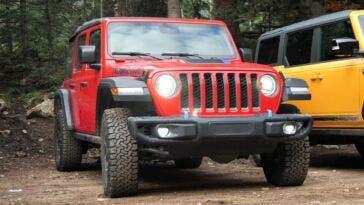 Jeep Wrangler vs Ford Bronco vs Land Rover Defender test off-road