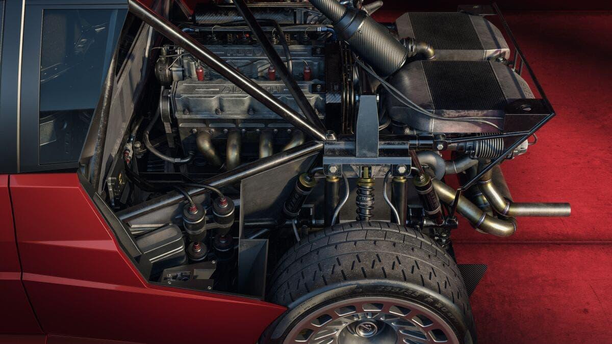 Lancia Delta S4 modernizzata render