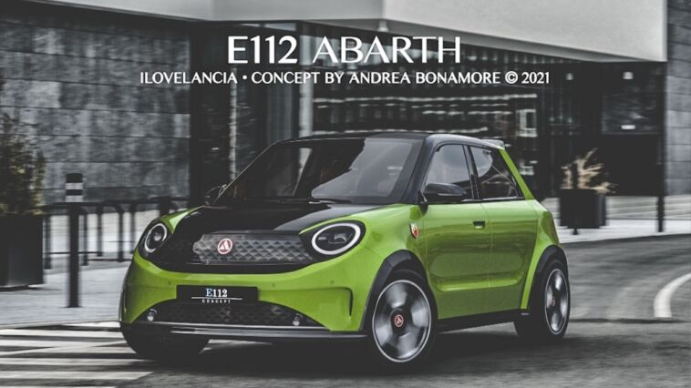 Lancia E112 Abarth render