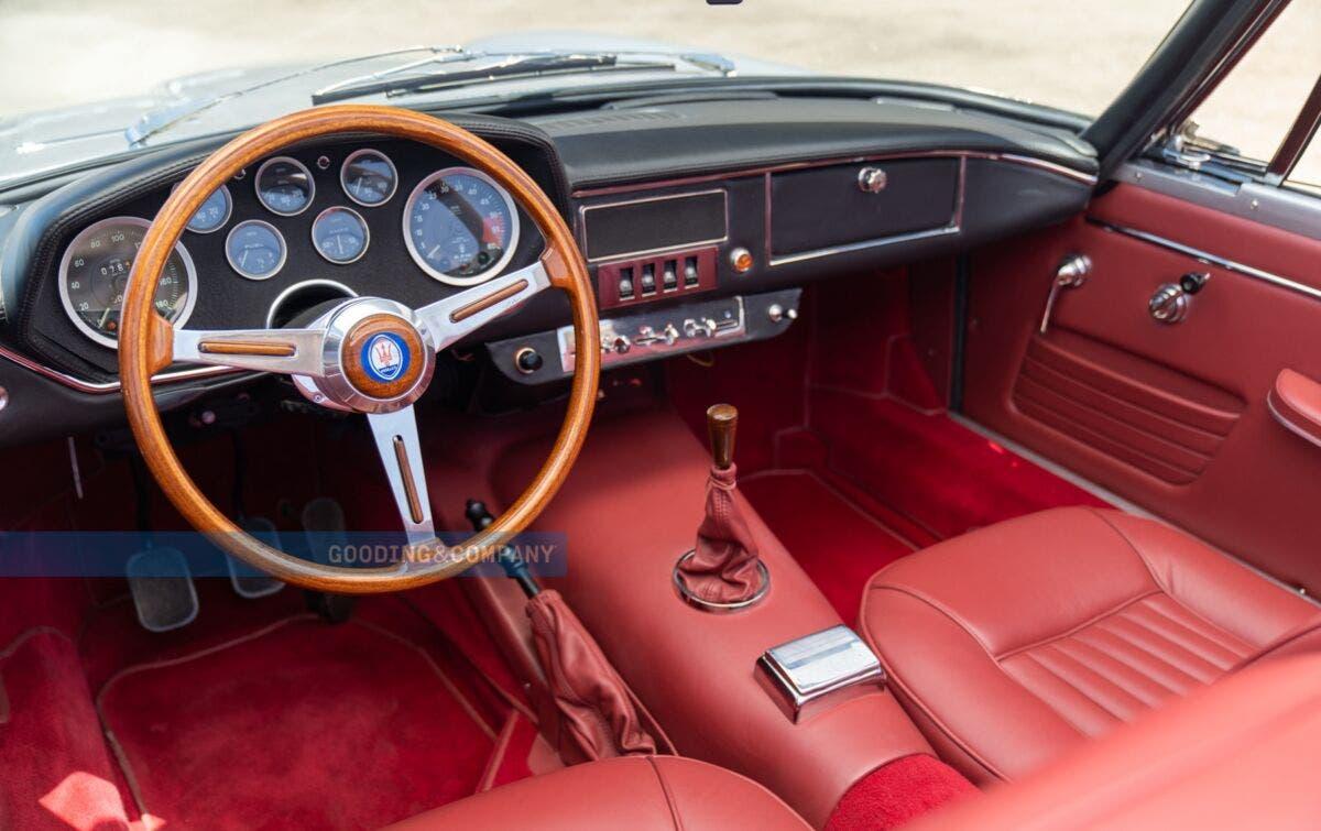 Maserati Mistral Spider Neil Peart asta