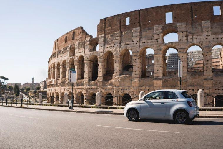 Nuova Fiat 500 Elettrica LeasysGO! Ciampino