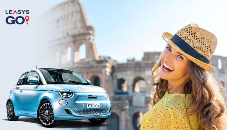 Nuova Fiat 500 Elettrica LeasysGO! Prenditela comoda