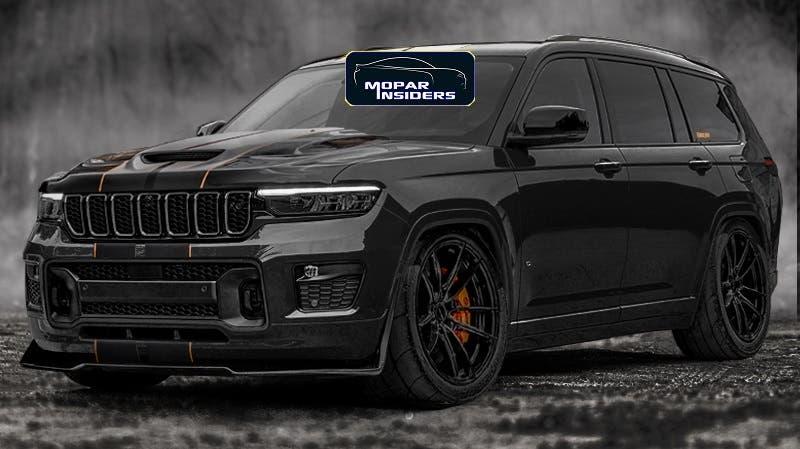 Nuova Jeep Grand Cherokee Trackhawk ildar_project render