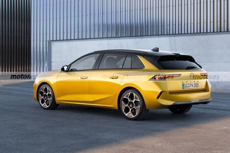 Nuova Opel Astra Sports Tourer render