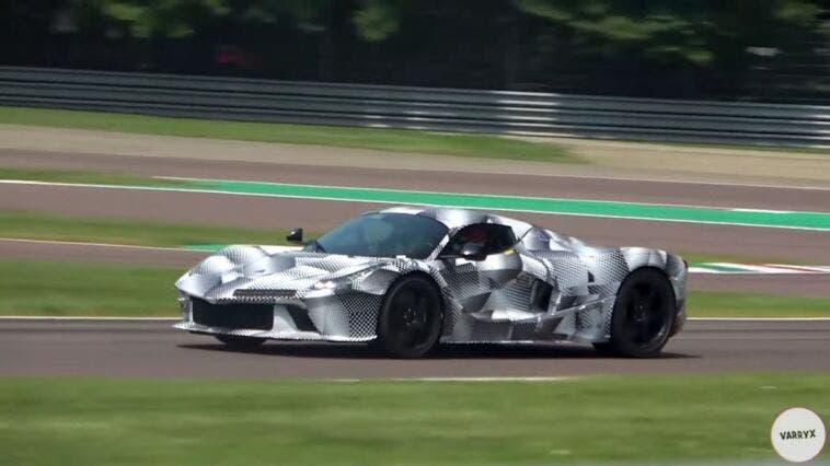 Nuova hypercar Ferrari ultimo video